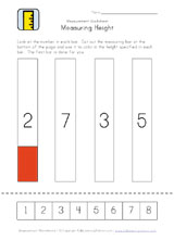 measurement worksheet height