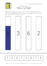 height measurement worksheet