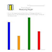 measuring worksheet height