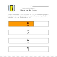 measurement worksheet length