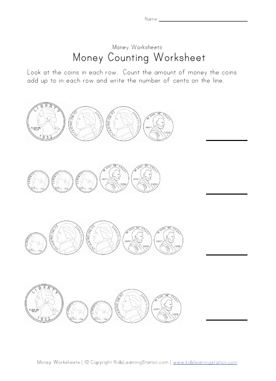 Coin Values Worksheet | ABITLIKETHIS