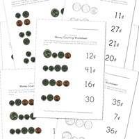 math worksheet : 20 awesome money worksheets  kids learning station : Money Worksheets Kindergarten