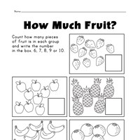 math worksheet : christmas themed numbers 1  10 worksheet  kids learning station : Numbers 6 10 Worksheets For Kindergarten
