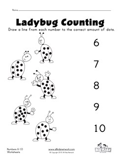 math worksheet : numbers 1  10 worksheets  kids learning station : 1 10 Worksheets For Kindergarten