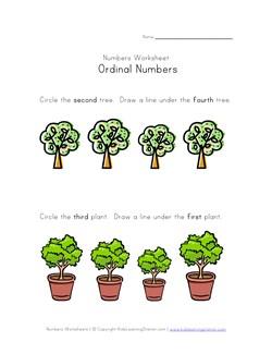 math worksheet : ordinal numbers worksheets  kids learning station : Kindergarten Ordinal Numbers Worksheet