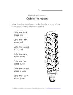 math worksheet : ordinal numbers worksheets  kids learning station : Ordinal Number Worksheets For Kindergarten