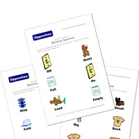 math worksheet : opposites worksheets  kids learning station : Opposites Worksheets Kindergarten
