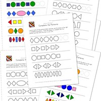 math worksheet : 15 awesome free pattern worksheets  kids learning station : Ab Pattern Worksheets For Kindergarten