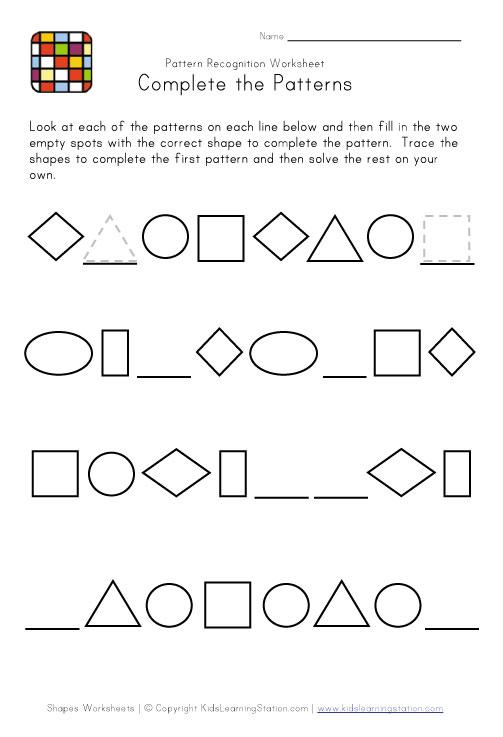Pattern Math Worksheets Hard | Free Printable Math Worksheets - Mibb ...