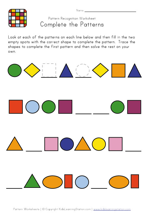 More Christmas Math Worksheets: Patterns and Addition | Animal Jr.