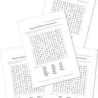 consonant blends word searches
