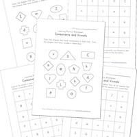 math worksheet : 100 awesome free phonics worksheets  kids learning station : Vowel Worksheets For Kindergarten
