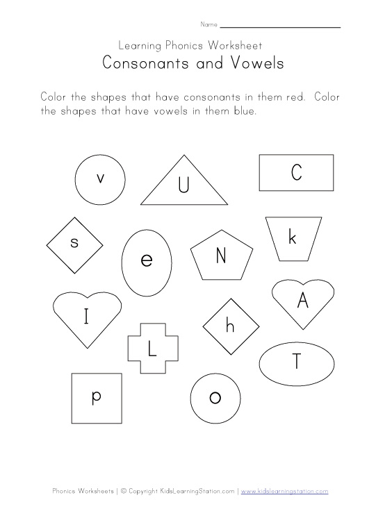 Printables Vowels And Consonants Worksheets consonants and vowels worksheets scalien short vowel worksheet abitlikethis