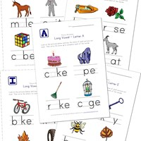 math worksheet : long vowel worksheets  kids learning station : Vowel Sounds Worksheets For Kindergarten