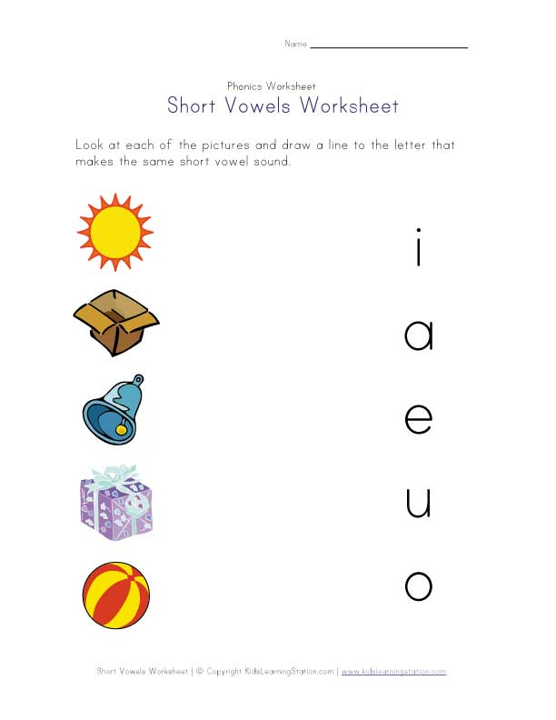 Short E Worksheets – Short E Worksheets for Kindergarten