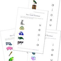 math worksheet : short vowel o worksheet  kids learning station : Long I Worksheets For Kindergarten