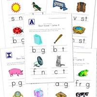 math worksheet : short vowel worksheets for kids  kids learning station : Kindergarten Short Vowel Worksheets