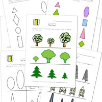 height worksheets