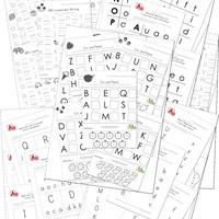 math worksheet : preschool and kindergarten worksheets  kids learning station : Free Letter Worksheets For Kindergarten