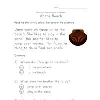 math worksheet : reading comprehension worksheets  kids learning station : Reading Comprehension Multiple Choice Worksheets