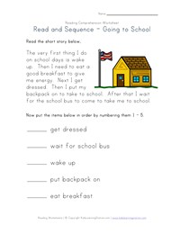 Worksheets Reading Comprehension Free Worksheets reading comprehension worksheets all kids network