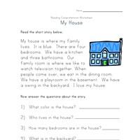 math worksheet : reading comprehension worksheets  kids learning station : Reading Comprehension Kindergarten Worksheets