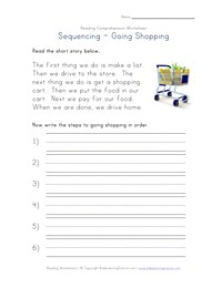 Printables Free Reading Comprehension Worksheets For 1st Grade reading comprehension worksheets all kids network