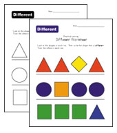 different shapes worksheet
