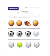 different sports worksheet