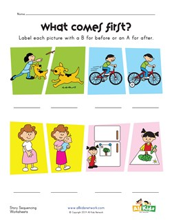 math worksheet : sequencing worksheets  kids learning station : Story Sequencing Worksheets For Kindergarten