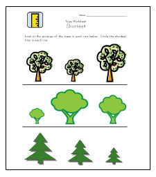 shortest worksheets