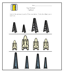 tallest worksheets