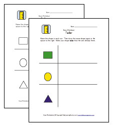 taller worksheets