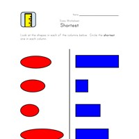 shortest worksheet