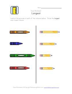 math worksheet : comparing weight worksheets for kindergarten  free* sort by  : Kindergarten Length Worksheets