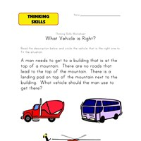 basic skills kindergarten worksheet