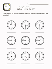 tell time