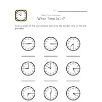 what time is it worksheets all kids network. Black Bedroom Furniture Sets. Home Design Ideas