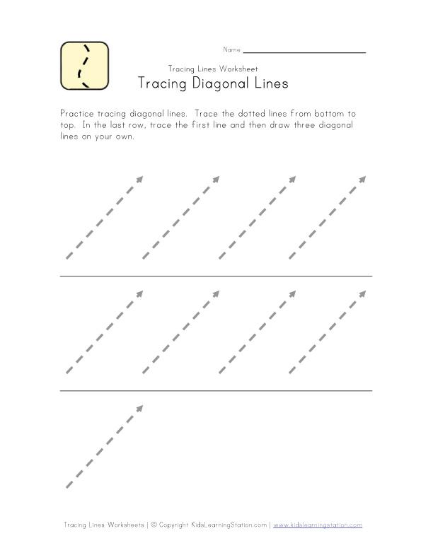 Writing Preparation Worksheet | Kids Learning Station