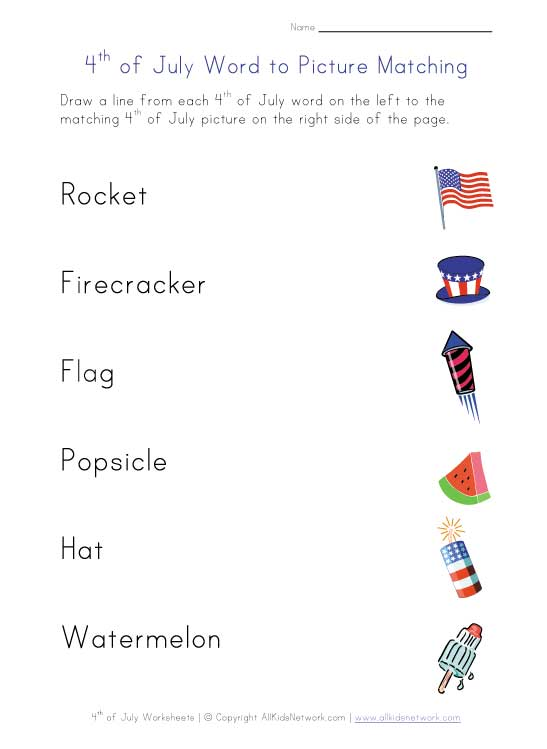Fourth Of July Worksheets : Independence day printables and worksheets th of july