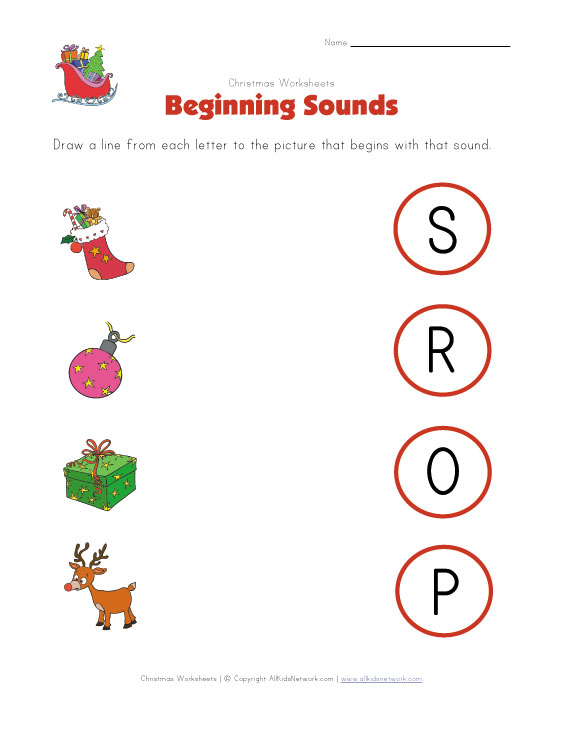 math worksheet : christmas worksheets for kids : Preschool Christmas Math Worksheets