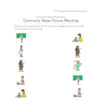 community helpers worksheets all kids network. Black Bedroom Furniture Sets. Home Design Ideas
