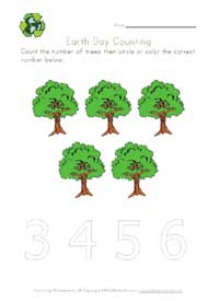 earth day counting five