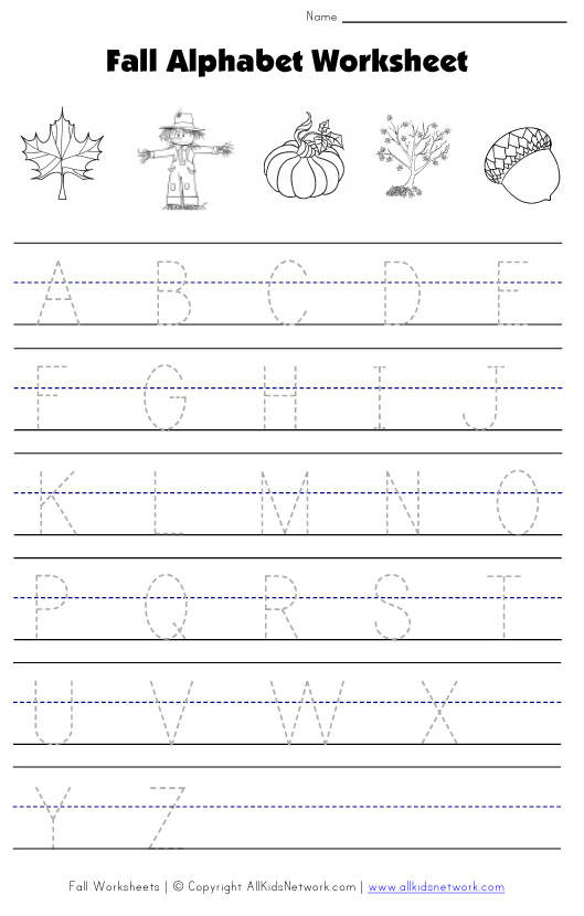 40+ Awesome Fall Worksheets for Kids