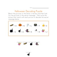 autumn puzzle worksheet decode the secret fall message all kids network. Black Bedroom Furniture Sets. Home Design Ideas