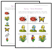 spring worksheets for kids
