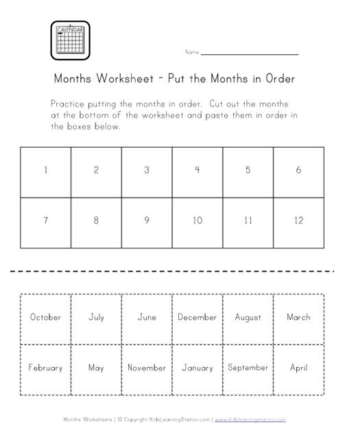 days of the week worksheets cut and paste math a to z teacher stuff printable pages and. Black Bedroom Furniture Sets. Home Design Ideas