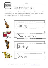music instrument types