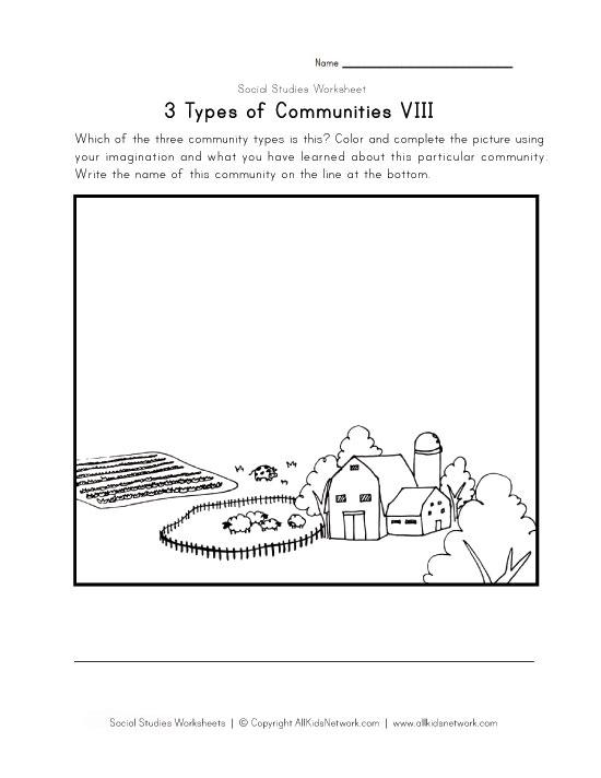 2nd Grade Social Studies Worksheets On Communities