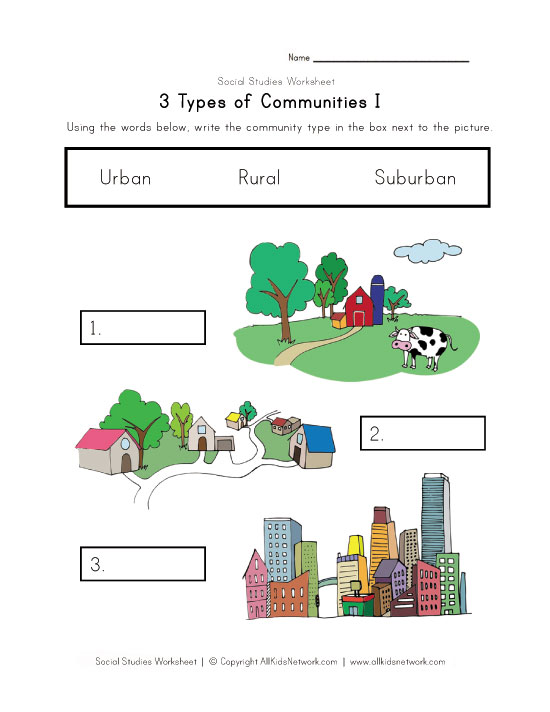 worksheets and activities for teaching Asking for giving directions